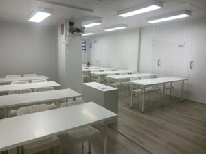 academia oposita pamplona aula